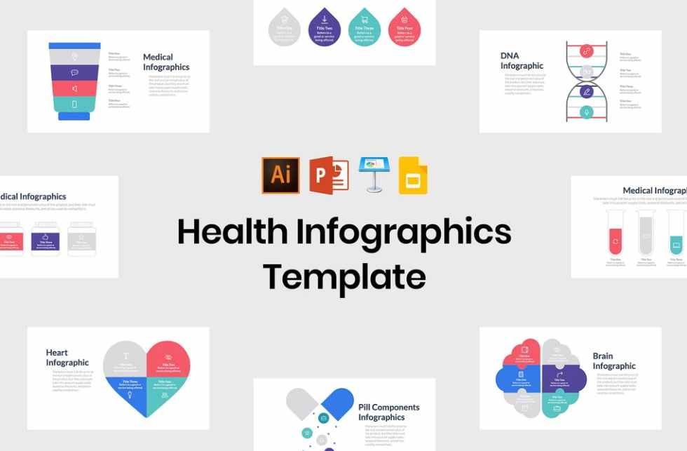 Health Infographics Template